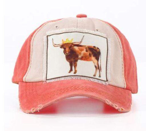 Royal Steer Hat-Hats-Moonshine and Lace Boutique