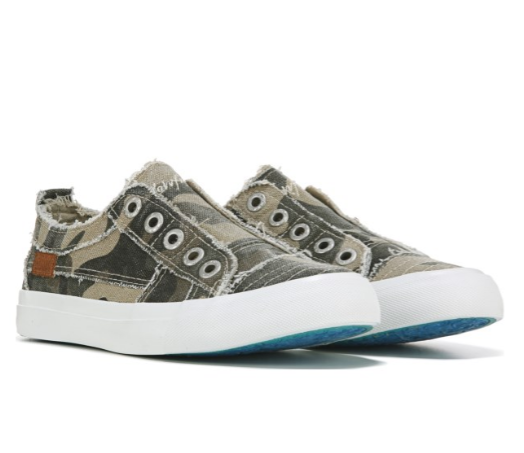Blowfish Play - Natural Camoflauge Canvas Tennis Shoes