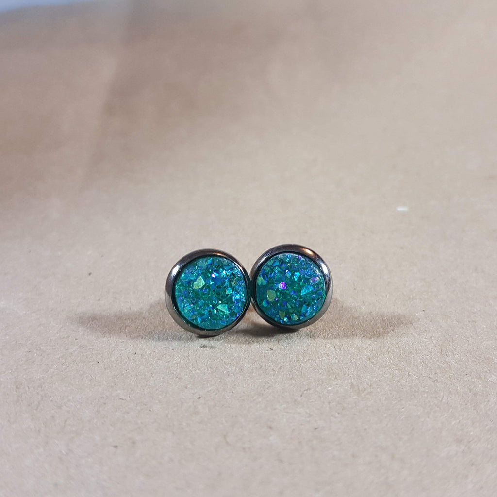 Earrings - Aqua-Jewelry-Moonshine and Lace Boutique