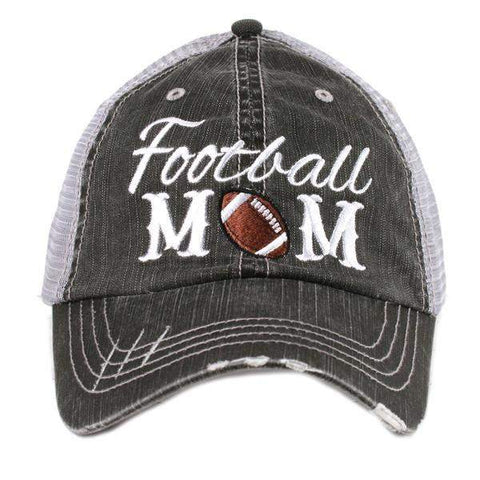 Football Mom Hat-Hats-Moonshine and Lace Boutique