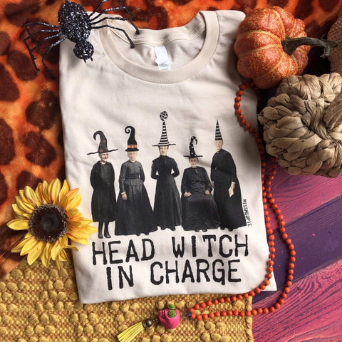 Head Witch in Charge Tee (S-3XL)