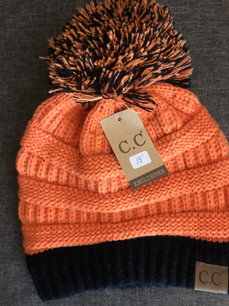 C.C. Spirit Beanie with Pom Pom