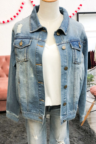 Denim Jacket  (S-L)