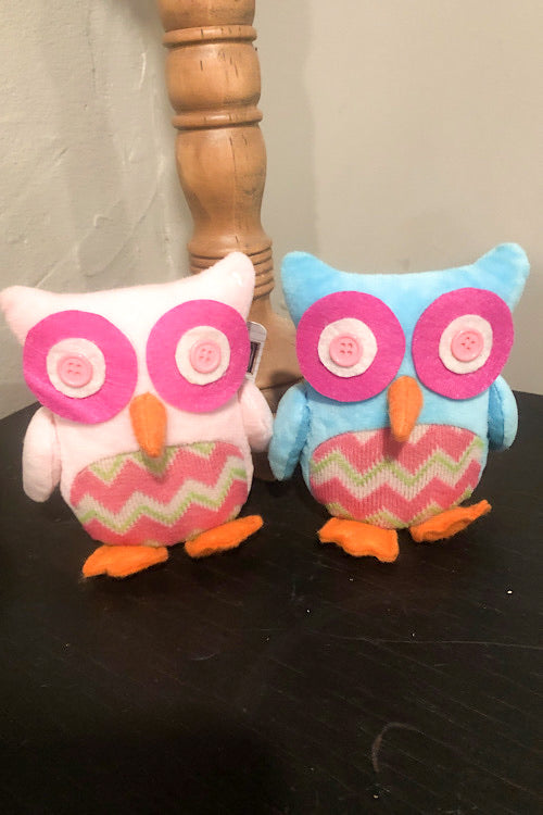 Zigzag Tabletop Owl - Small