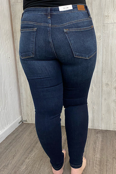 Clara - Judy Blue Skinny Non-Distressed Jeans