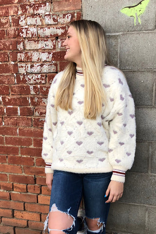 Adeline Heart Me Forever Sweater