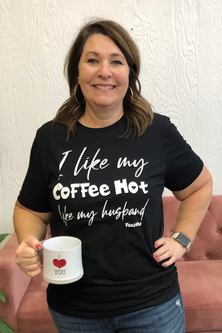 Hot Coffee Hot Husband Tee (S-2XL)
