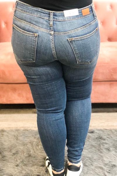 Jolene - Judy Blue Destroyed Skinny Jean (1-24)