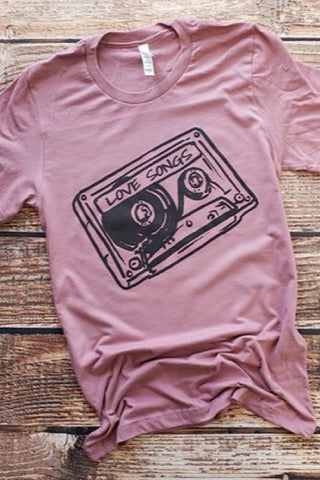 Love Songs Tee (S-2XL)