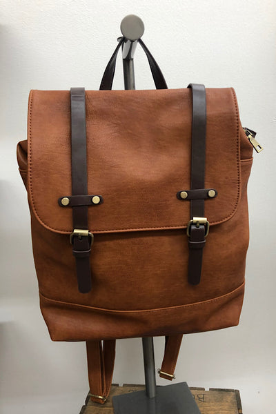 Sandra - Backpack with Double Buckles