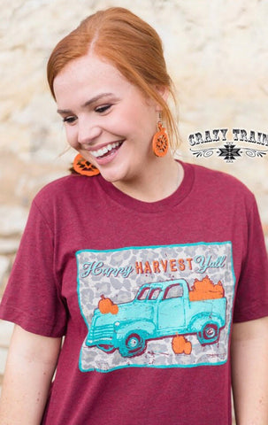 Crazy Train* Happy Harvest Tee