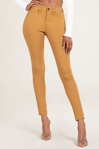 Hyperstretch Mid-Rise Skinny Jean - Harvest