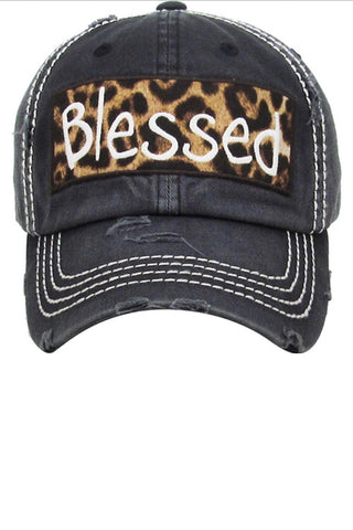 Leopard Blessed Hat