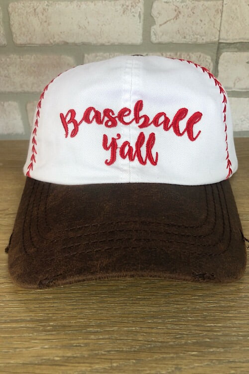 Baseball Y'all Hat