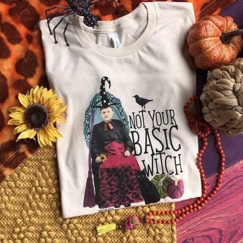 Not Your Basic Witch Tee (S-3XL)