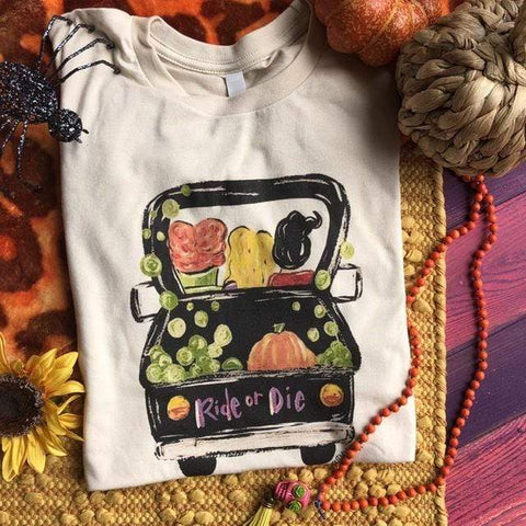 Ride or Die Fall Tee (S-3XL)