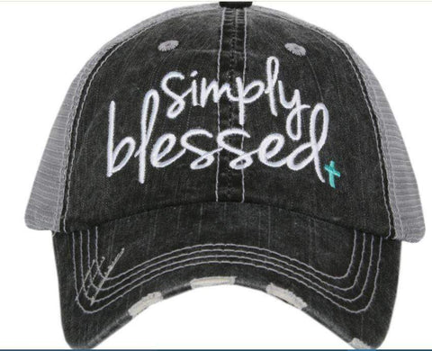 Simply Blessed Hat-Hats-Moonshine and Lace Boutique