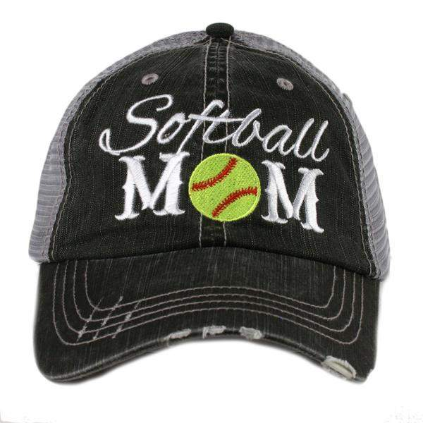 Softball Mom Hat-Hats-Moonshine and Lace Boutique