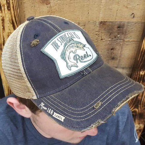 The Struggle is Reel - Fishing Hat-Hats-Moonshine and Lace Boutique