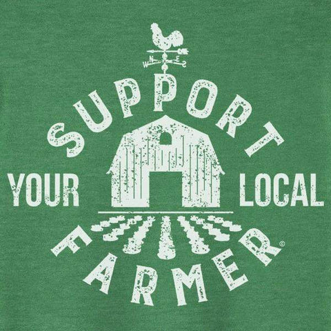 Support Your Local Farmer Graphic Tee-Graphic Tee-Moonshine and Lace Boutique