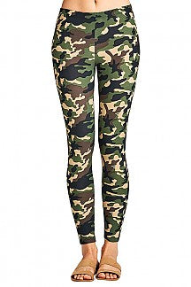 Camo Leggings-Bottoms-Moonshine and Lace Boutique