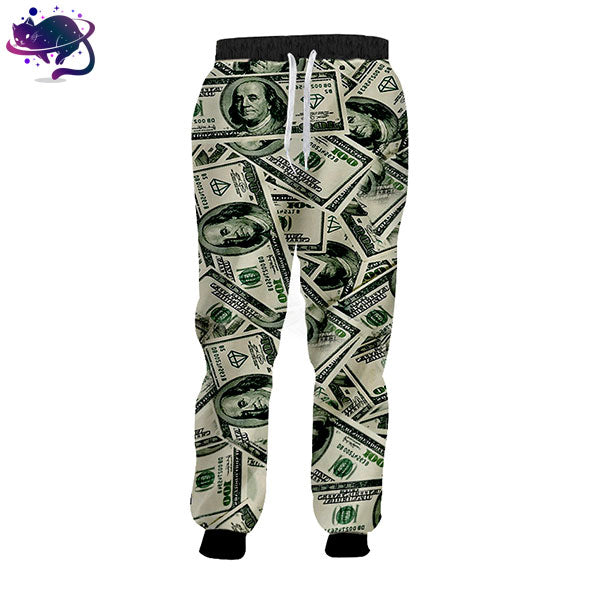 $100 Dollar Bill Joggers - UltraRare