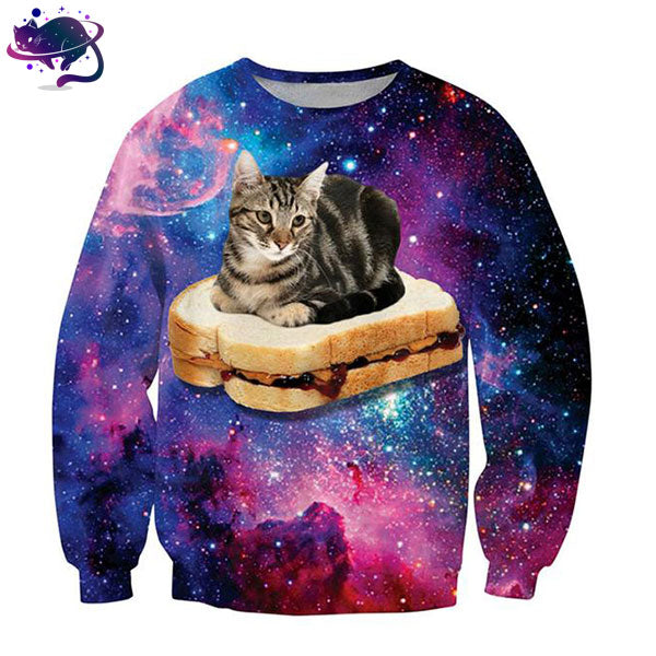 Cat On A PB&J Crew Neck - UltraRare