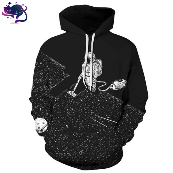 Astronaut Cleaning Hoodie - UltraRare