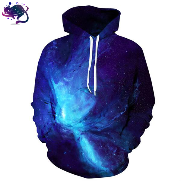 Blue Space Hoodie - UltraRare