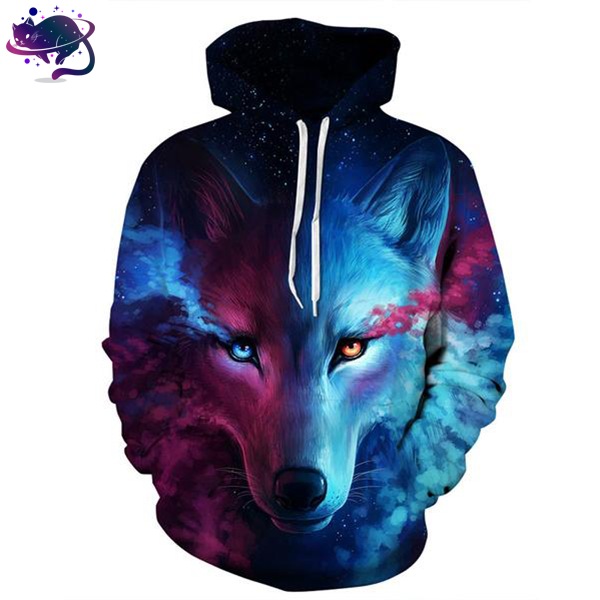 Space Wolf Hoodie - UltraRare