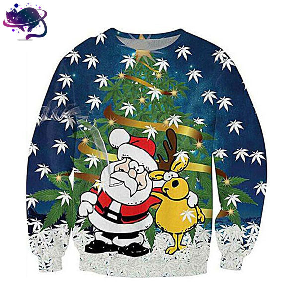 Christmas Weed Crew Neck - UltraRare