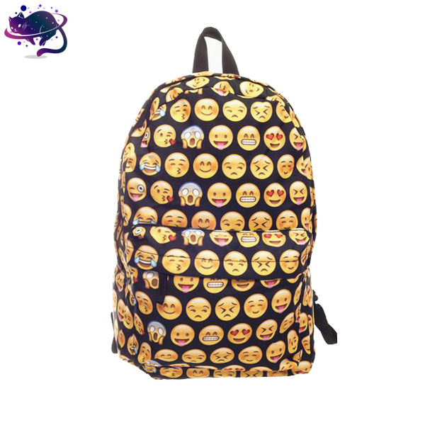 Black Emoji Backpack - UltraRare