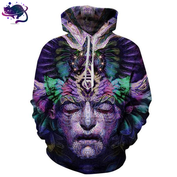 Nightmare Face Hoodie - UltraRare