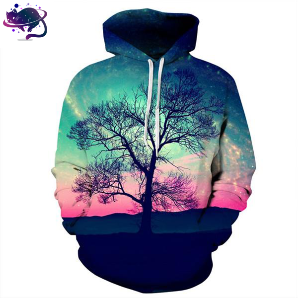 Nightfall Tree Hoodie - UltraRare