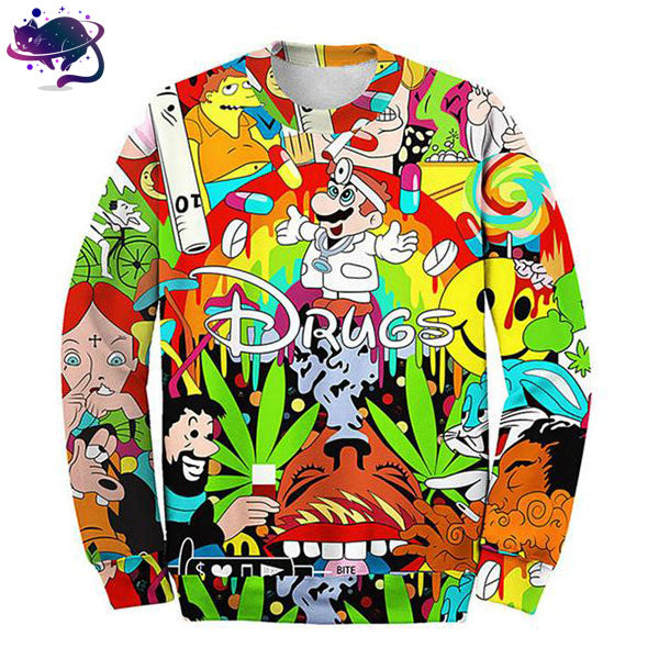 Drugs Crew Neck - UltraRare