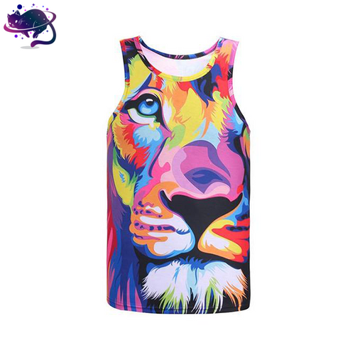 Trippy Lion Tank Top