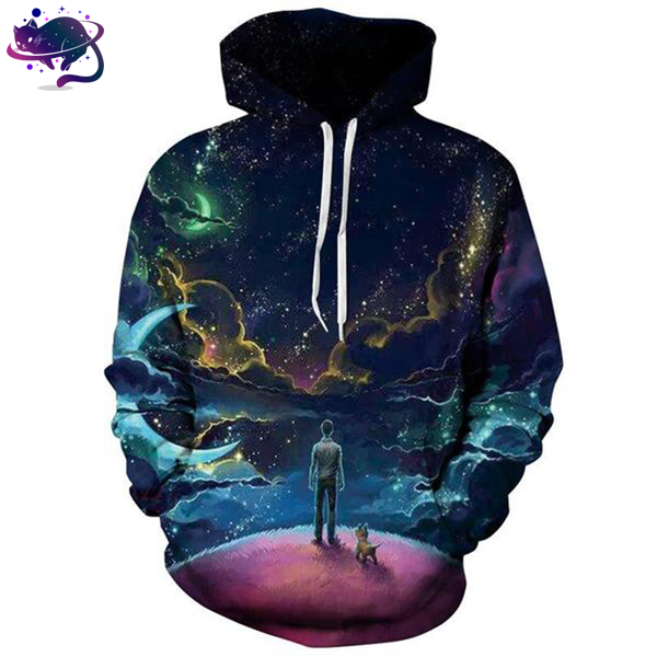 Colorful Sky Hoodie - UltraRare