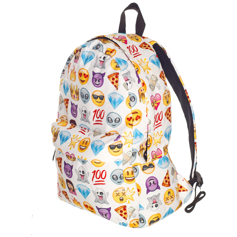 White Emoji Backpack - UltraRare