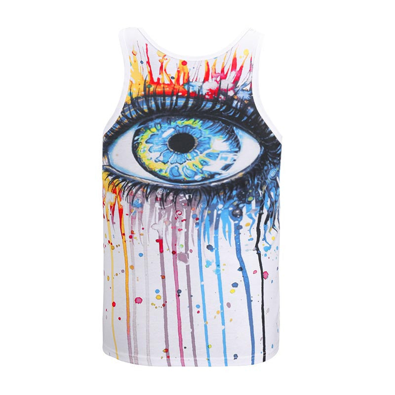 Trippy Eye Tank Top - UltraRare