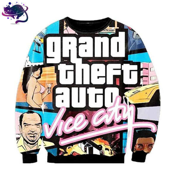 GTA Vice City Crew Neck - UltraRare