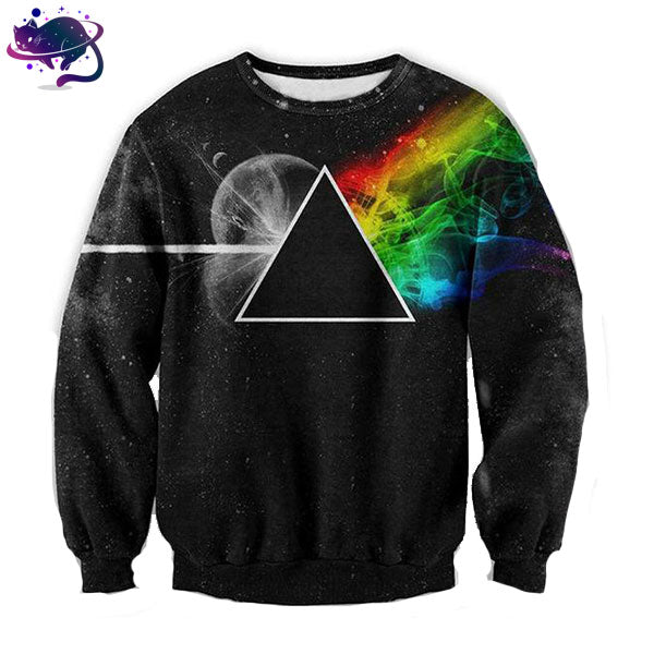 Illuminati Rainbow Crew Neck - UltraRare