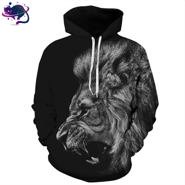 Roaring Lion Hoodie - UltraRare