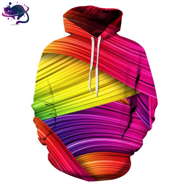 Color Striped Hoodie - UltraRare
