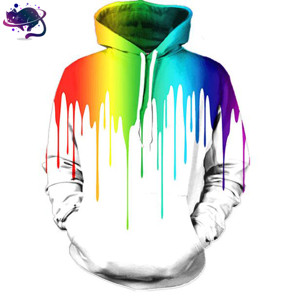 Colorful Graffiti Hoodie - UltraRare