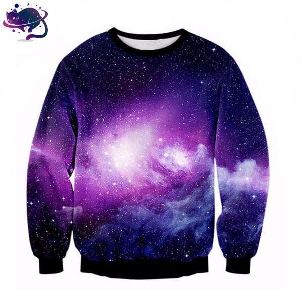 Purple Galaxy Crew Neck - UltraRare