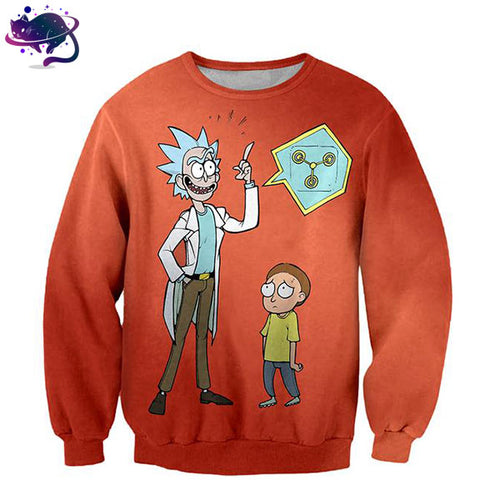 Rick & Morty Crew Neck