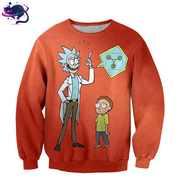 Rick & Morty Crew Neck - UltraRare