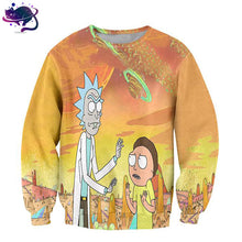 Rick And Morty Crew Neck - UltraRare