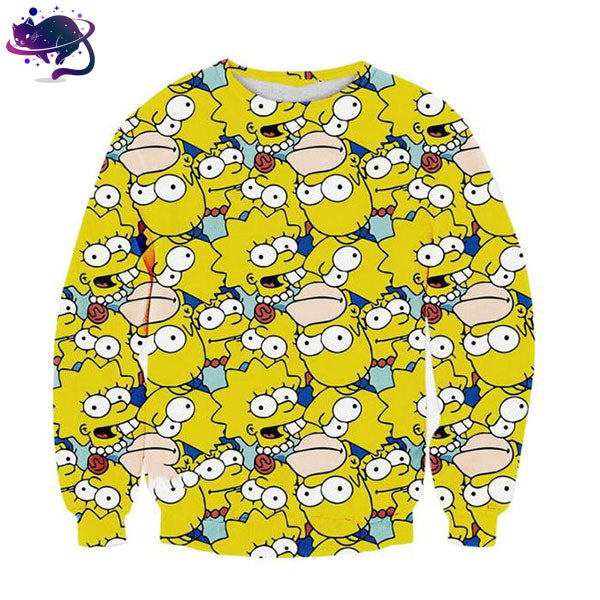 Simpsons Crew Neck - UltraRare