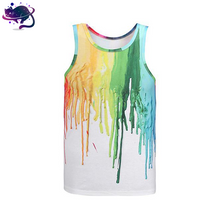 Dripping Paint Tank Top